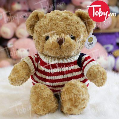 Gấu Teddy áo len Cờ Mỹ