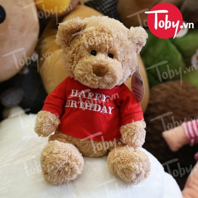 Gấu Teddy Happy Birthday