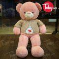 Gấu Teddy lông mịn áo len Baymax