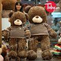 Gấu Teddy áo len sọc Chocolate