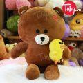 Gấu Bông Brown ôm Vịt